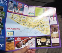 Mapa de Bridgetown
