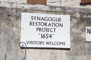 Proyecto de restauración de la antigua sinagoga que fue un importante centro cultural