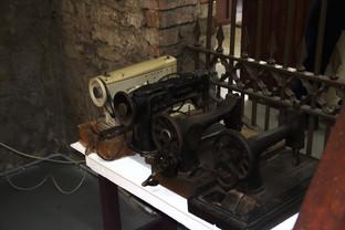 Antiguas máquinas de coser