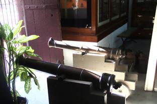 Cañones que se usaron en la defensa de Grenada