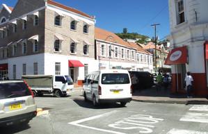 Una calle comercial