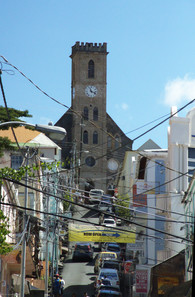 Detalle de vieja catedral