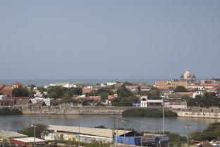 Vista de Cartagena desde el castllo