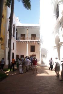Entrada al Palacio de la Inquisición