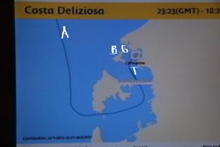 mapa de ubicación de Cartagena.
