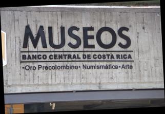 Entrada a los Museos del Banco Central de Costa Rica