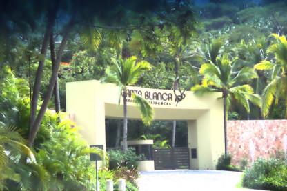 Un conjunto residencial muy famoso: Garza Blanca