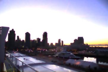 Skyline de San Diego al amanecer