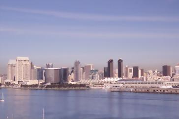 Centro de San Diego visto desde Coronado
