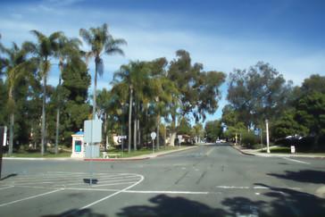 Las calles dentro del parque