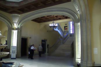 El interior del museo