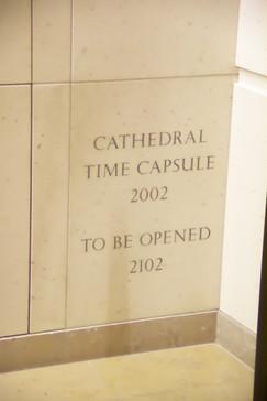 Cápsula del tiempo de la catedral