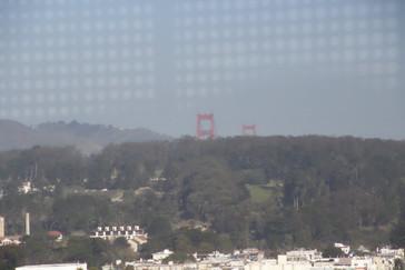 El puente de Goden Gate visto desde torre Hamon