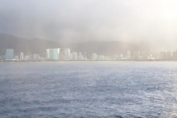 Llueve sobre Waikiki