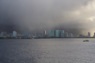 Llueve en Honolulú