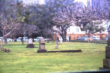 Detalle del cementerio