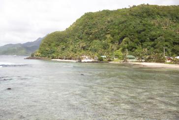 Una típica playa