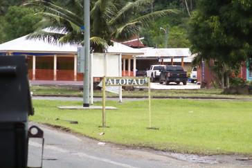 Ya regresando pasamos por el pueblo de Alufau