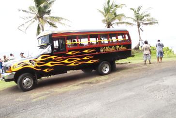 Otro autobús todavía más pintoresco que el nuestro