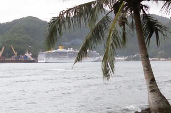 En esta foto el barco se ve peor, pero me parece más bonita.