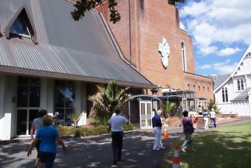Nueva catedral anglicana. En ladrillo