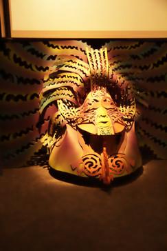 En varias salas se cuentan las leyendas maoríes sobre la formación del mundo. En ellas, el mar y los peces son los paotagonistas.