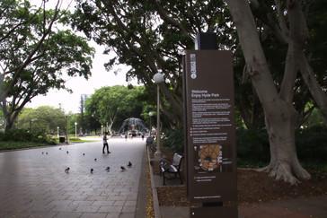 Muy cerquita está el Hyde Park