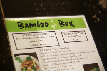 La carta de Bamboo Box