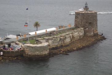 Faro-fortaleza de la Bahía de Sydney (Port Jackson)