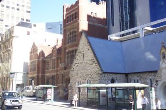 Una calle de Perth