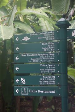 Los distintos sitios que se pueden visitar