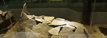 Enterramientos con lamas de piedra