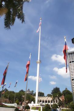 El mástil de bandera más grande del mundo