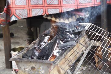 Carbones ardiendo