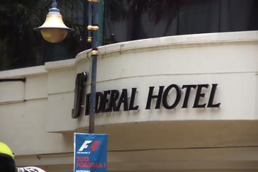 Hotel Federal, donde comimos