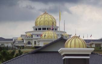 Detalle de las cúpulas  del palacio