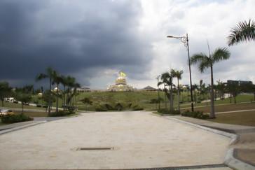 Una vista del palacio presidencial