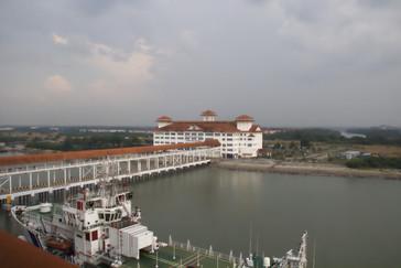Centro de cruceros del puerto de Klang