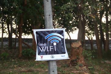 Además es una zona con WiFi gratis