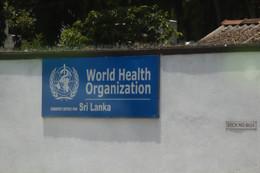 Pasamos por la Organización Mundial de la Salud