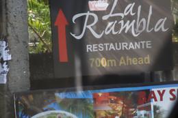 Un restaurante con nombre curioso para Colombo: Las Ramblas