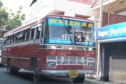 Autobuses de la zona