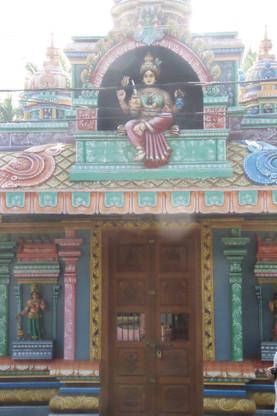 No recuerdo el nombre de este pequeño templo. Era acogedor.