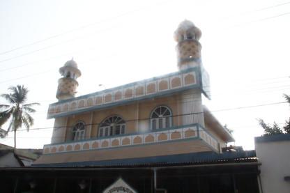 Detalle del edificio que en la foto anterior se veía al fondo.