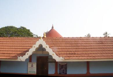 El templo Azhithrikov Mahavishnu