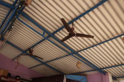 La refrigeración eran estos ventiladores