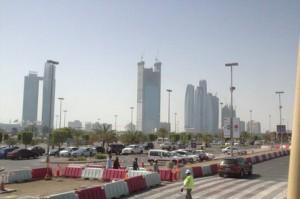 """El actual """"skyline"""" de Abu Dabi"""