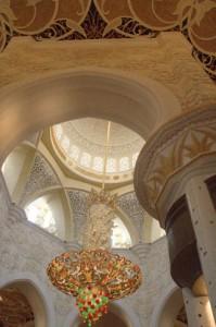Los techos están decorados con pinturas