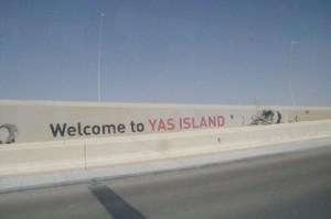 Bienvenido a la isla Yas