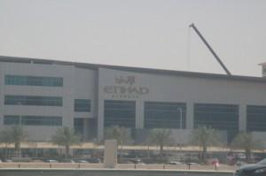 Hangares de la línea aérea Etihad